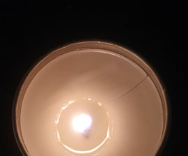 Cat's Paw Candle