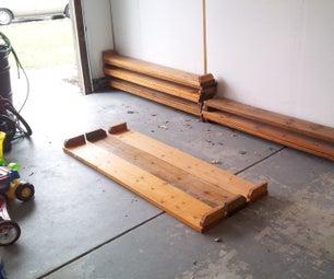 Homemade Work Bench