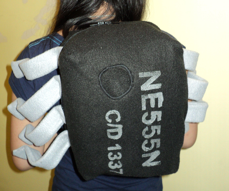 Giant 555 Timer Chip Backpack