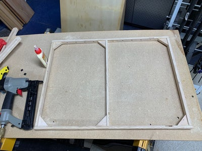 Assembling the Cooking and Support Frames