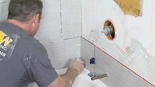 Leave a Gap Between Adjacent Walls