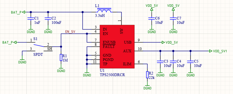 The 5V Boost Converter