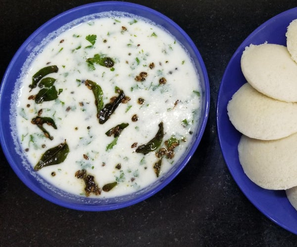 Special Buttermilk for Breakfast With IDLI