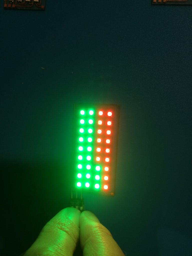 Solder LEDs