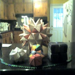 Color Origami Ball