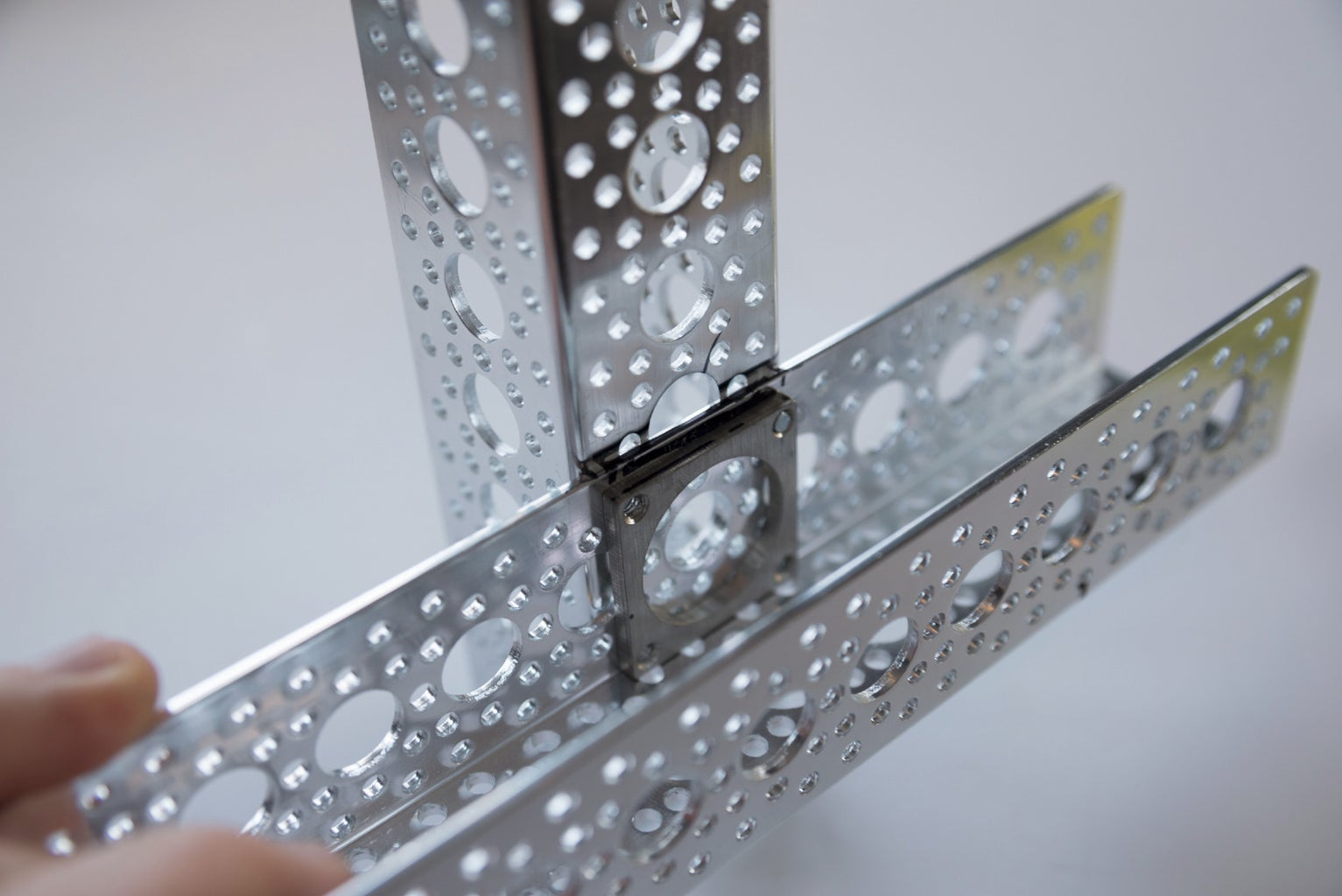 Attach the Aluminum Channels