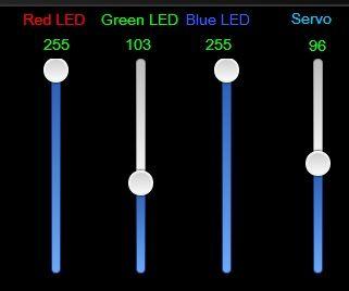 Openremote Arduino Sensors Servo RGB Led and Switch