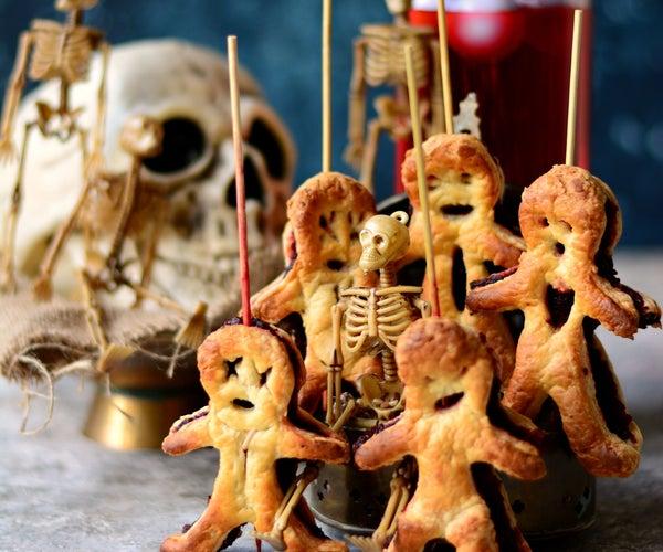 5 Ingredient VEGAN Pastry Voodoo Dolls