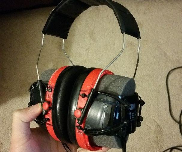 DIY surround sound headset