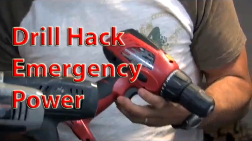 Drill and Hard Drive Hack to Generators and Mirrors