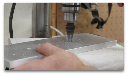 Drilling Attachment Holes in the Base (2/2)
