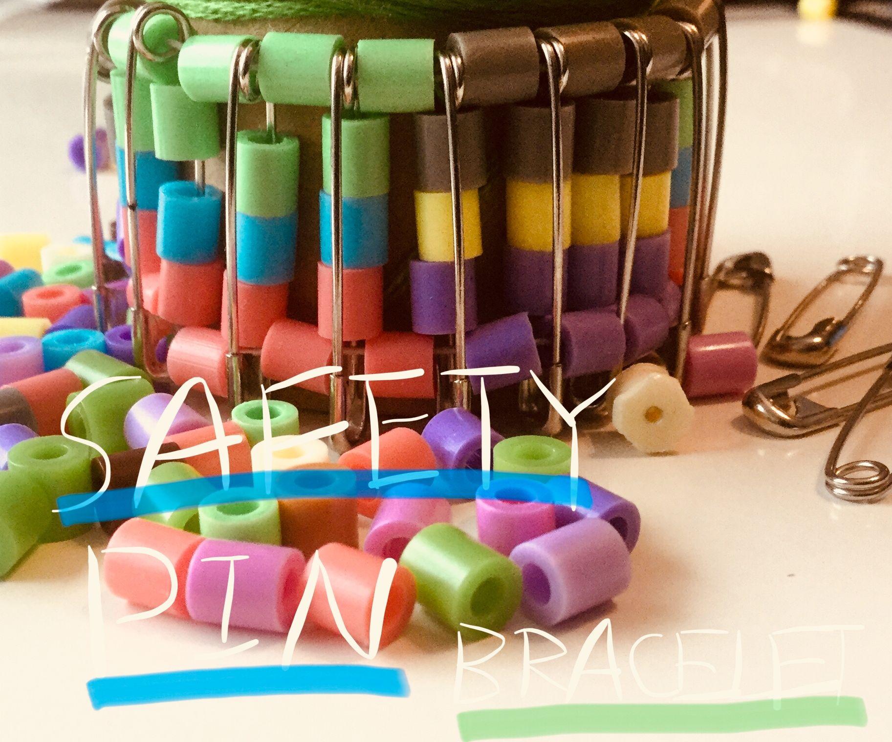 Simple Safety Pin Bracelet