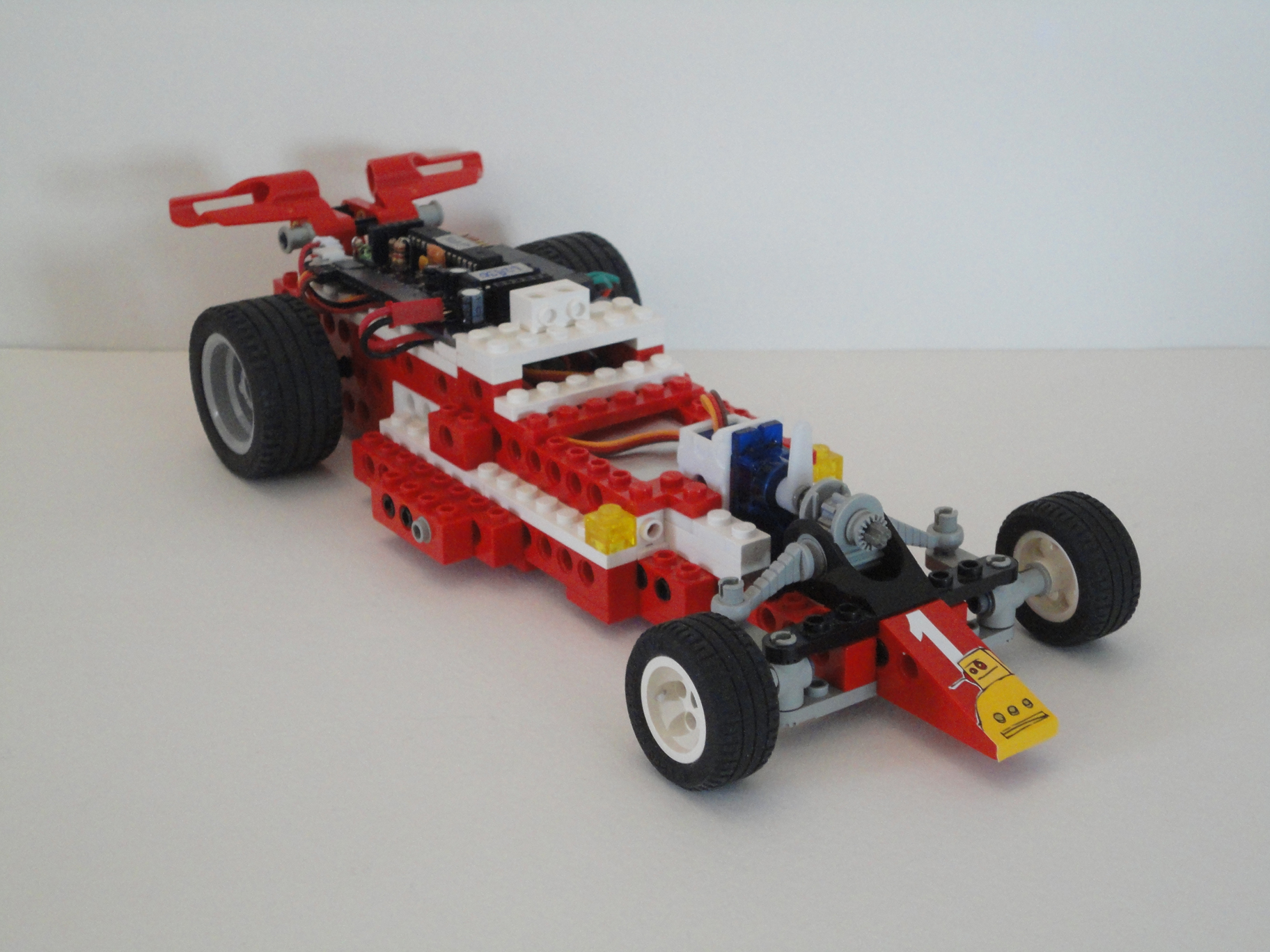 Wireless LEGO Race Car Redux