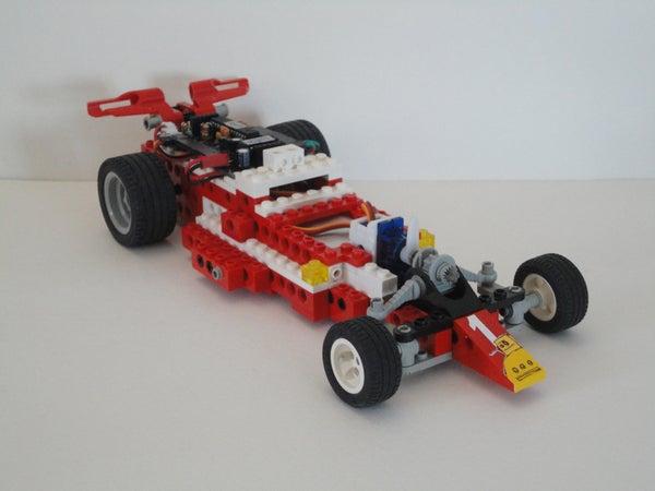 Wireless LEGO Race Car Redux