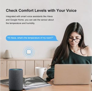 1.  Voice Control SONOFF SNZB-02: