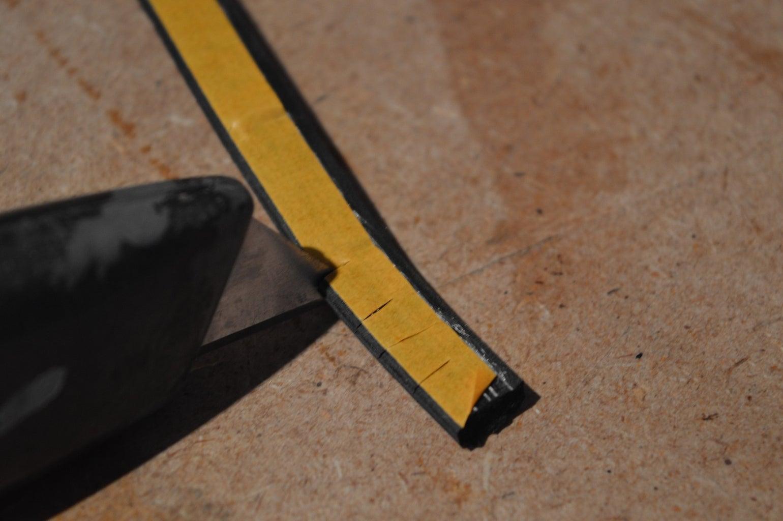 Optional Step- Rubber Strip