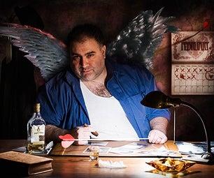 Cupid Noir - Digital Illustration and Mayhem in the Studio
