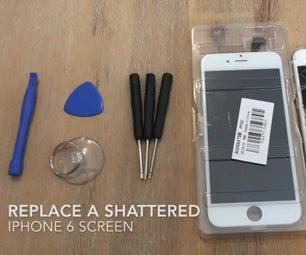 如何更换破碎的iPhone屏幕