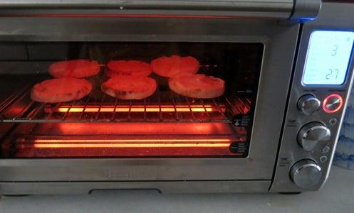 Prepare Muffins and Ham