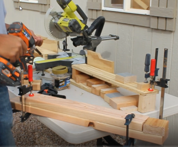 Assemble Legs and Drilling