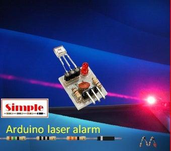 Simple Arduino Laser Alarm