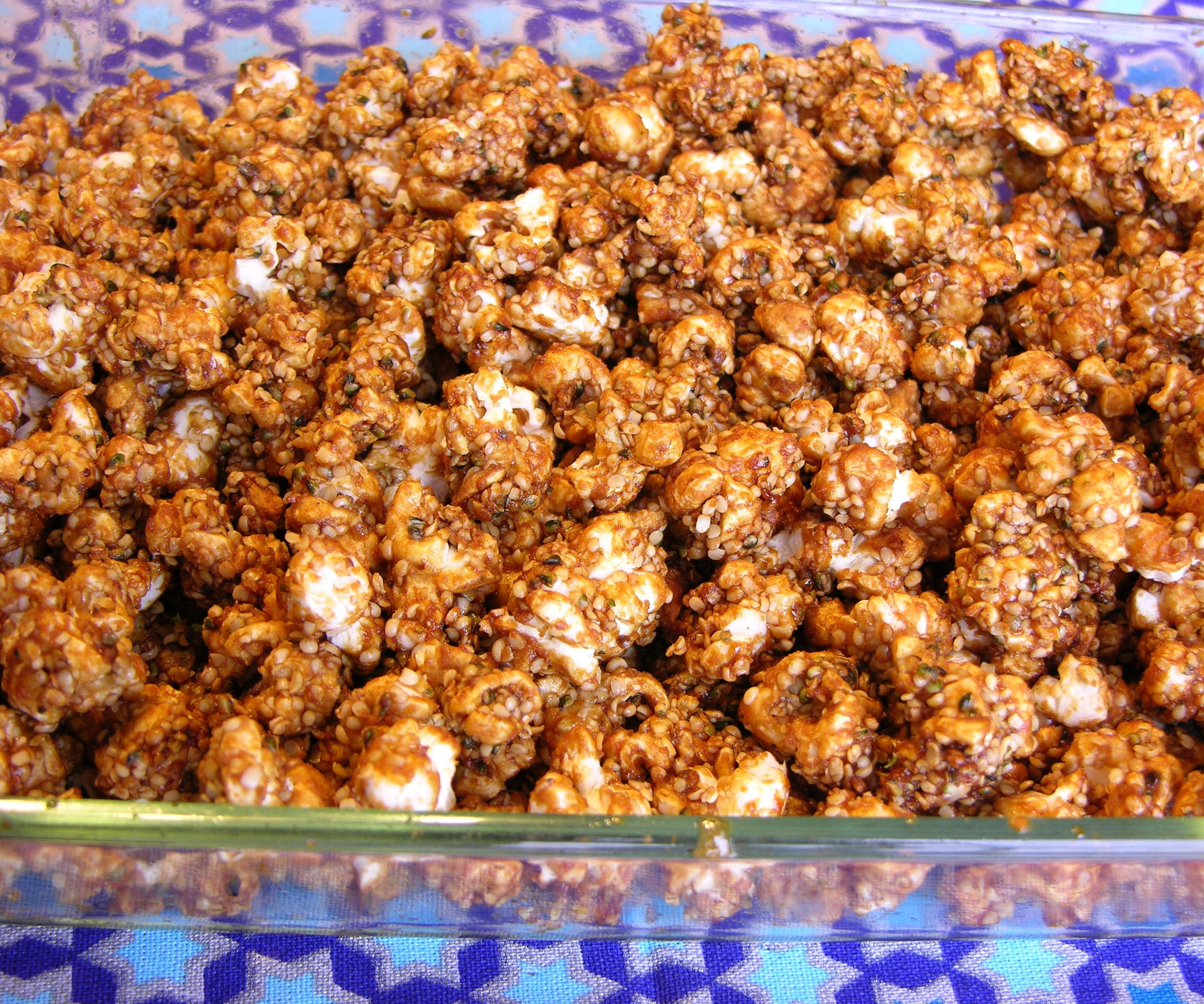 Hemp Seed Caramel Corn