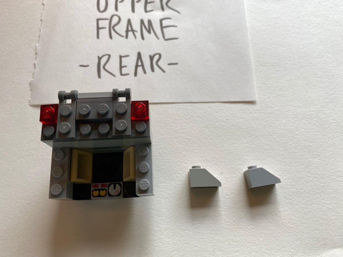Build the Upper Frame (Rear Section)