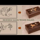 Laser Marquetry and Inlays - See it before cut it?
