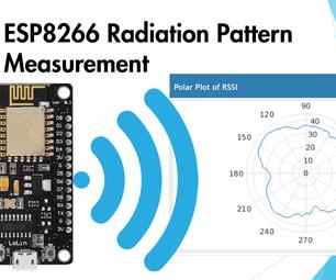 ESP8266 Radiation Pattern