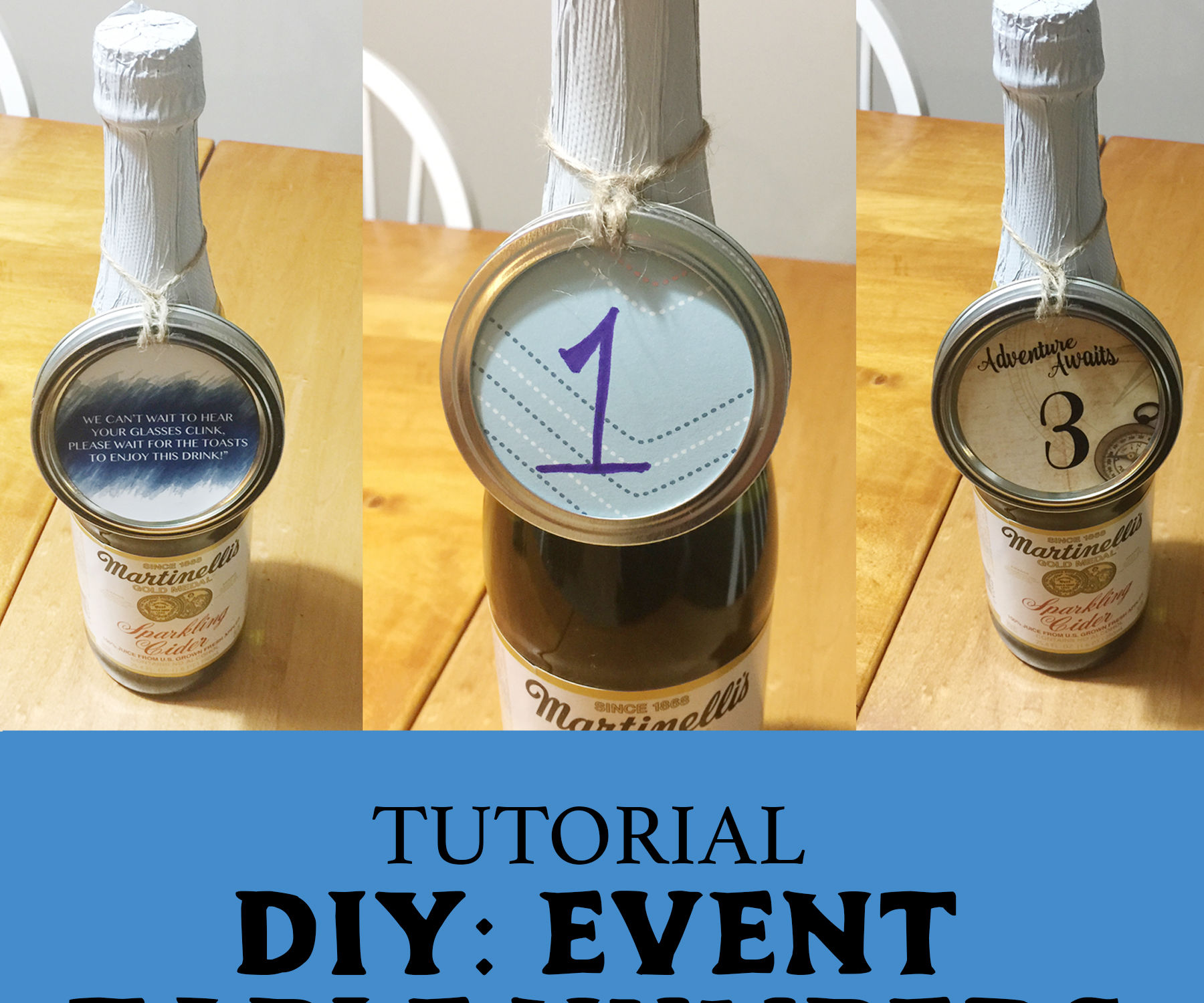 DIY Event Table Numbers