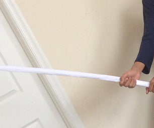 How to Make a Sephiroth Type Sword With Paper