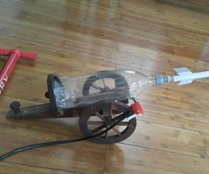 Paper Rocket Launcher