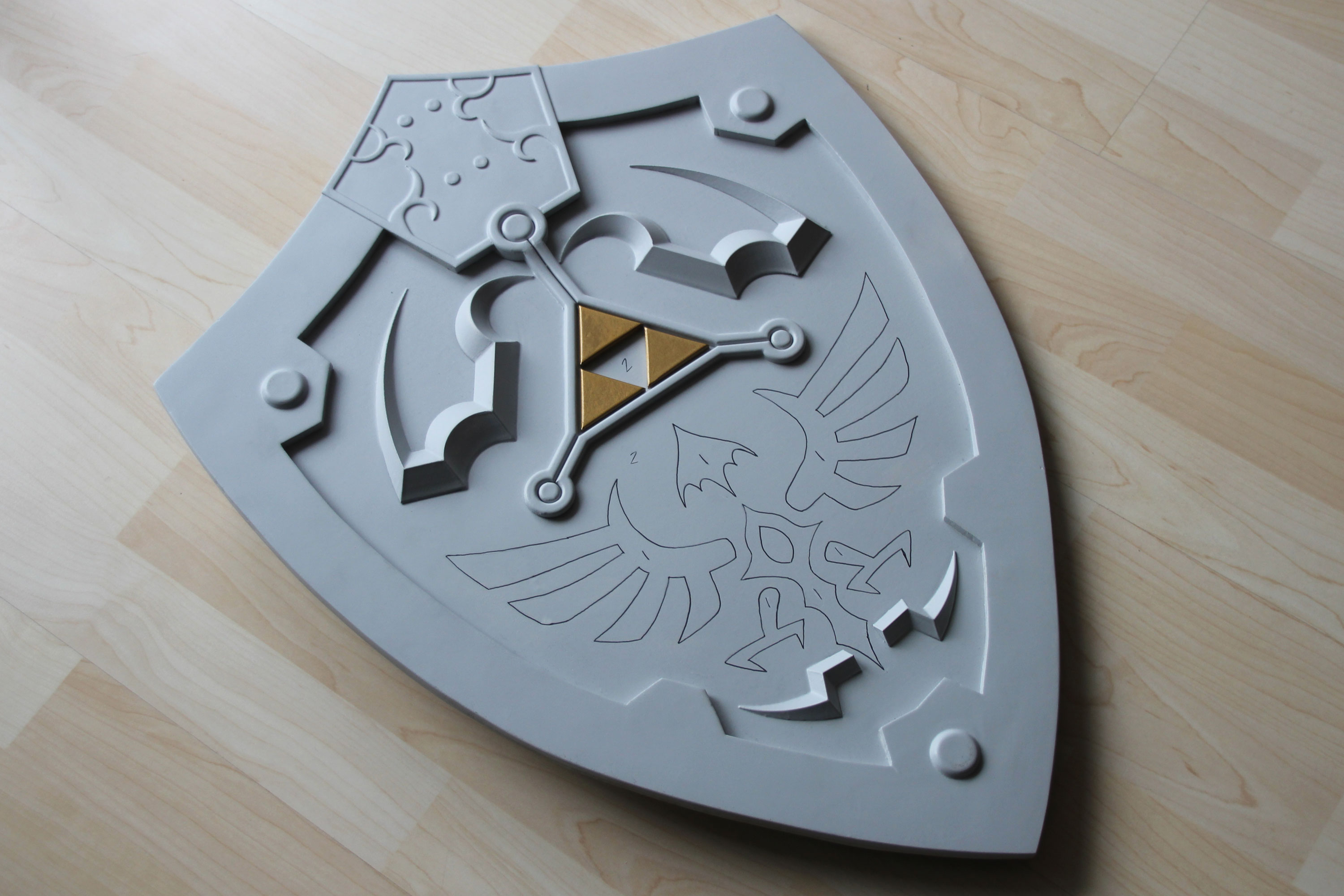 Paint by Number Zelda Shield
