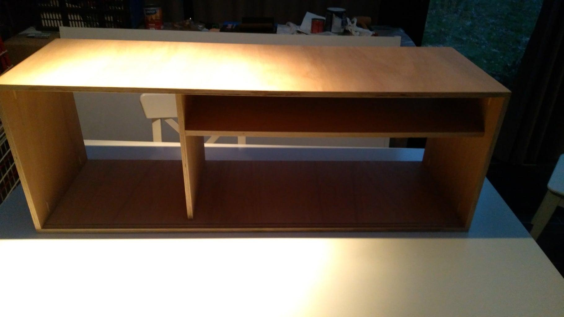 Finishing the Cabinet