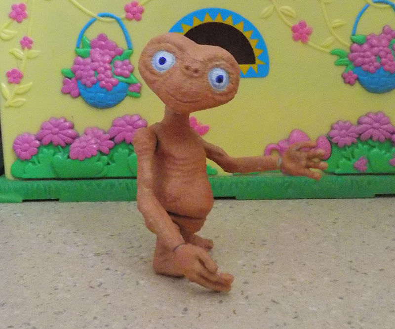 E.T.(Action figure,3dprinted)