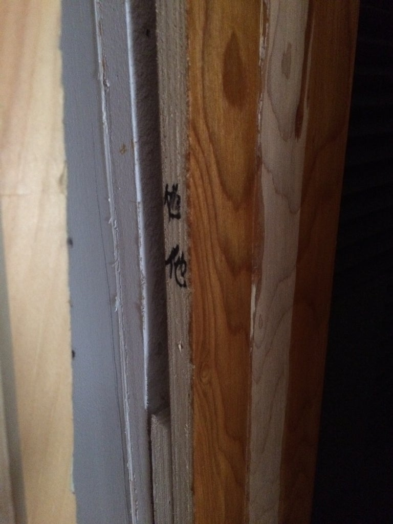 Take Off Door and Door Trim & Fix Any Structural Issues