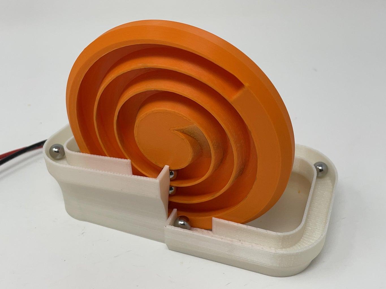 Marblevator, Spiral Disk.