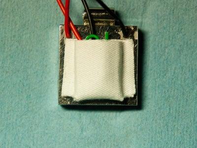 Adding a Battery Holder - Step 3 - the Holder
