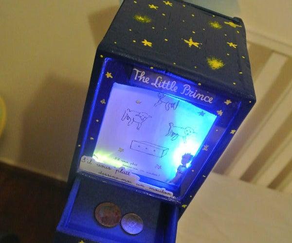 ''Little Prince'' Balsa Light Box