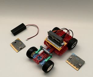 [2020] Using Two (x2) Micro:bits to Control an RC Car