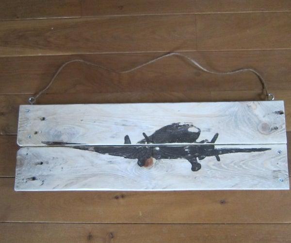 Plane on Pallet Board