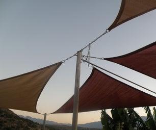 Shade Sails , Howto Alter,make and Install