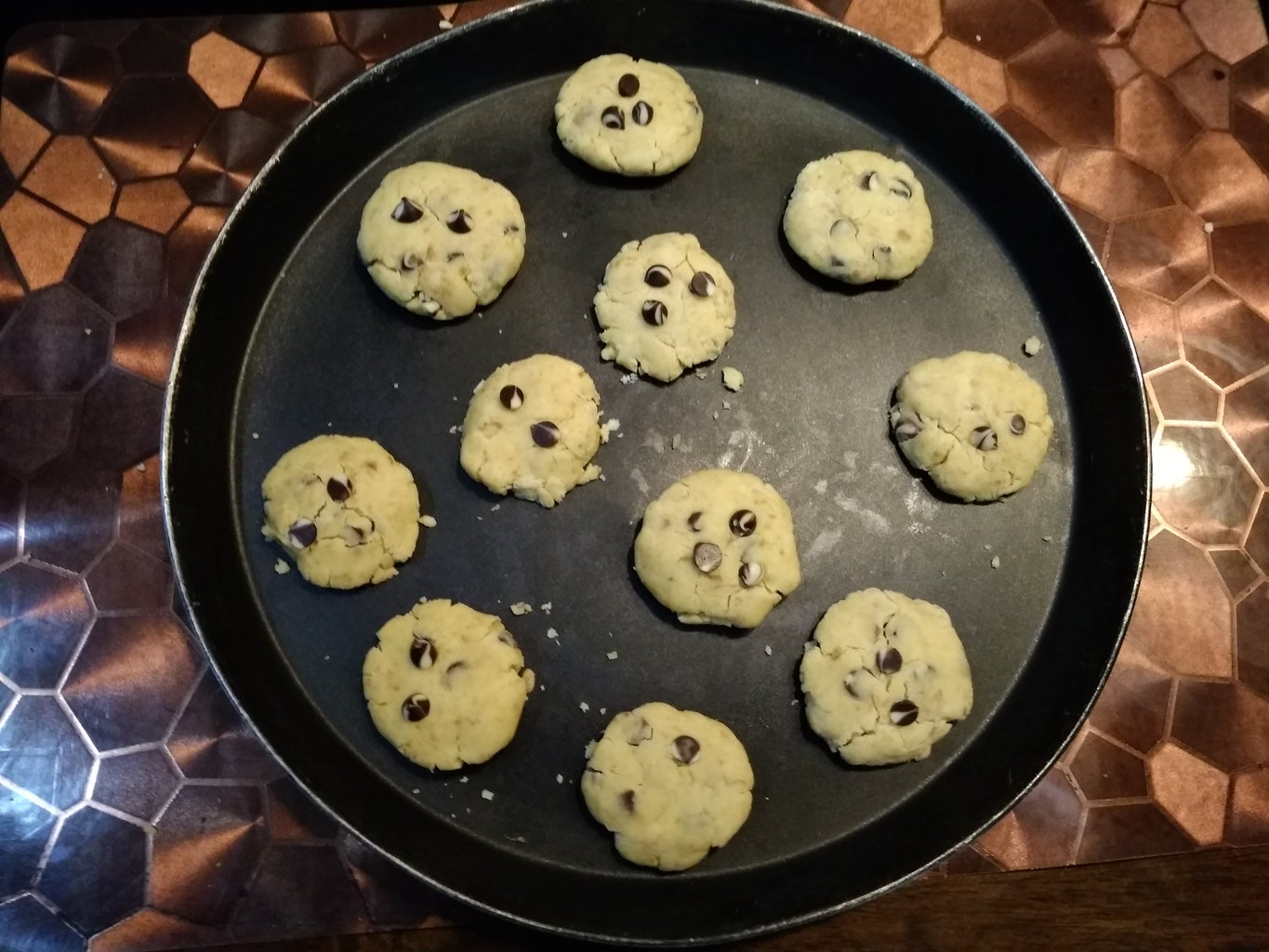 Shaping the Cookies