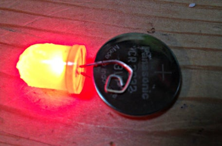 Preparing the LED