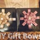 DIY Gift Wrap Bow