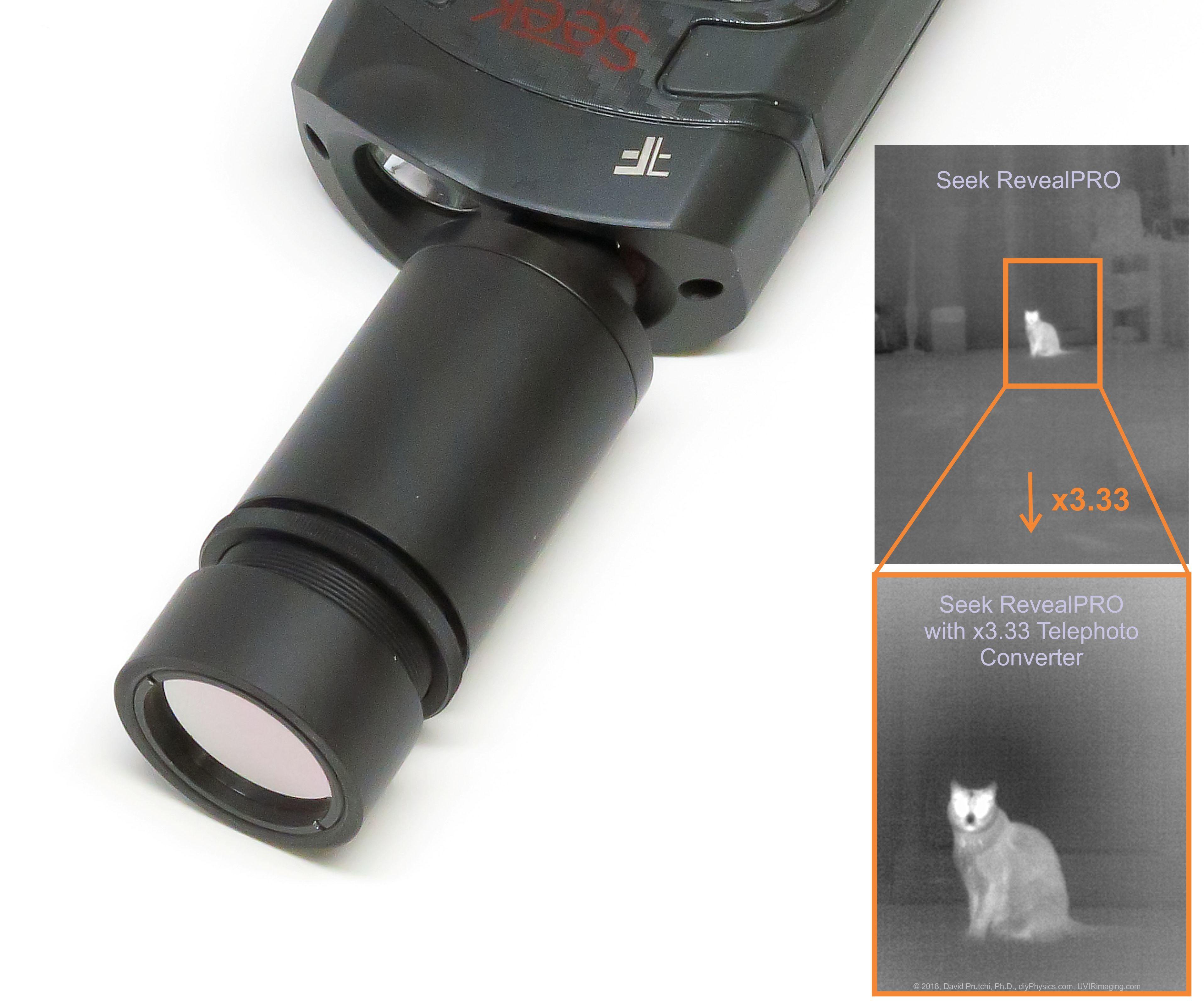 Diy Thermal Camera Telephoto Converter
