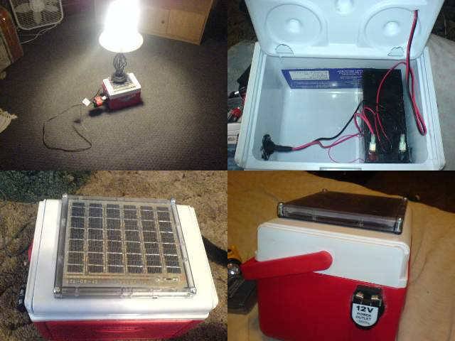 Building a micro solar generator