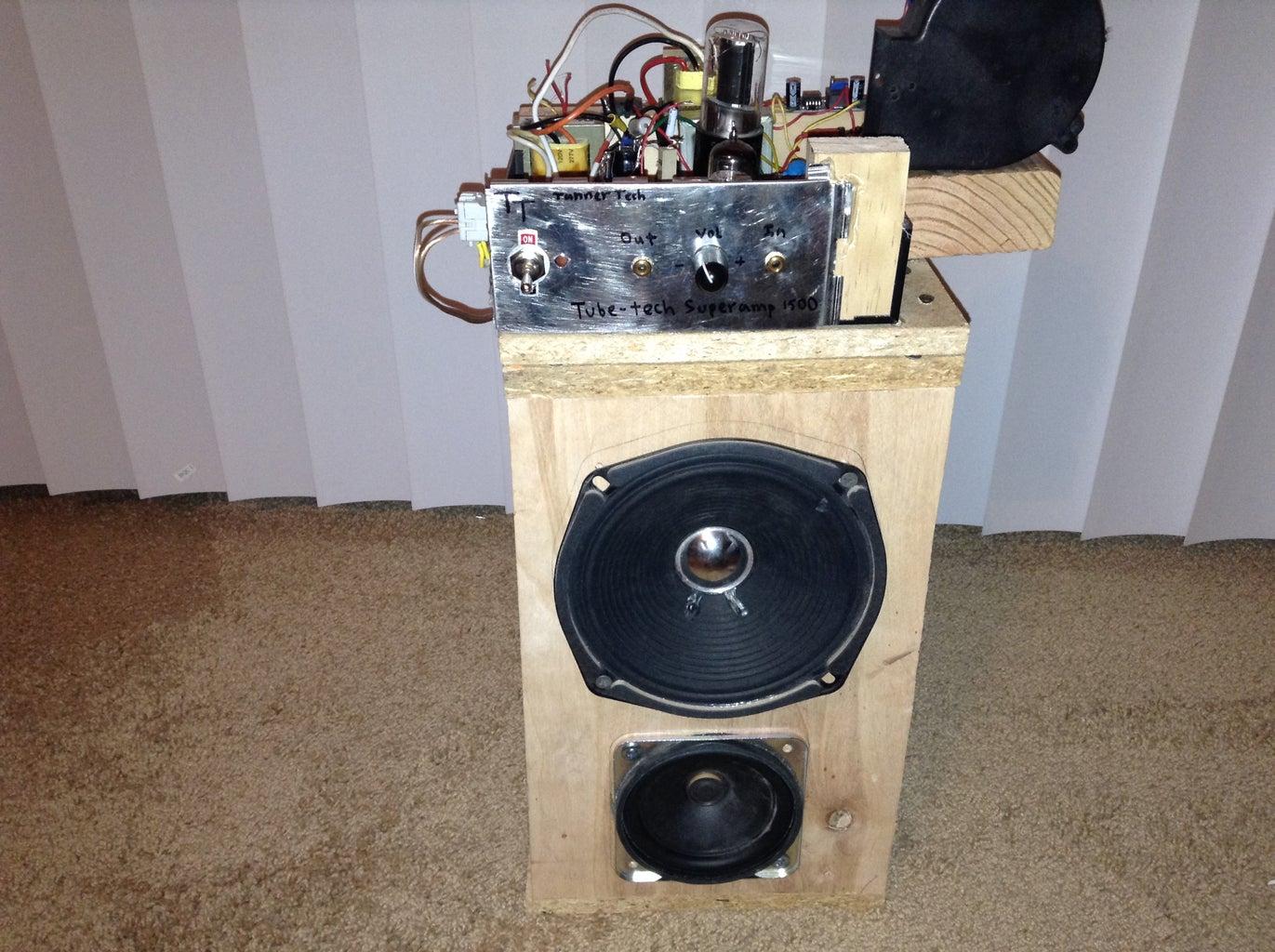 DIY Single Ended Vacuum Tube Amplifier