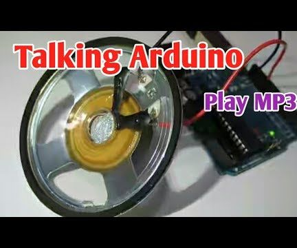 Talking Arduino   Playing a MP3 With Arduino Without Any Module   Playing Mp3 File From Arduino Using PCM