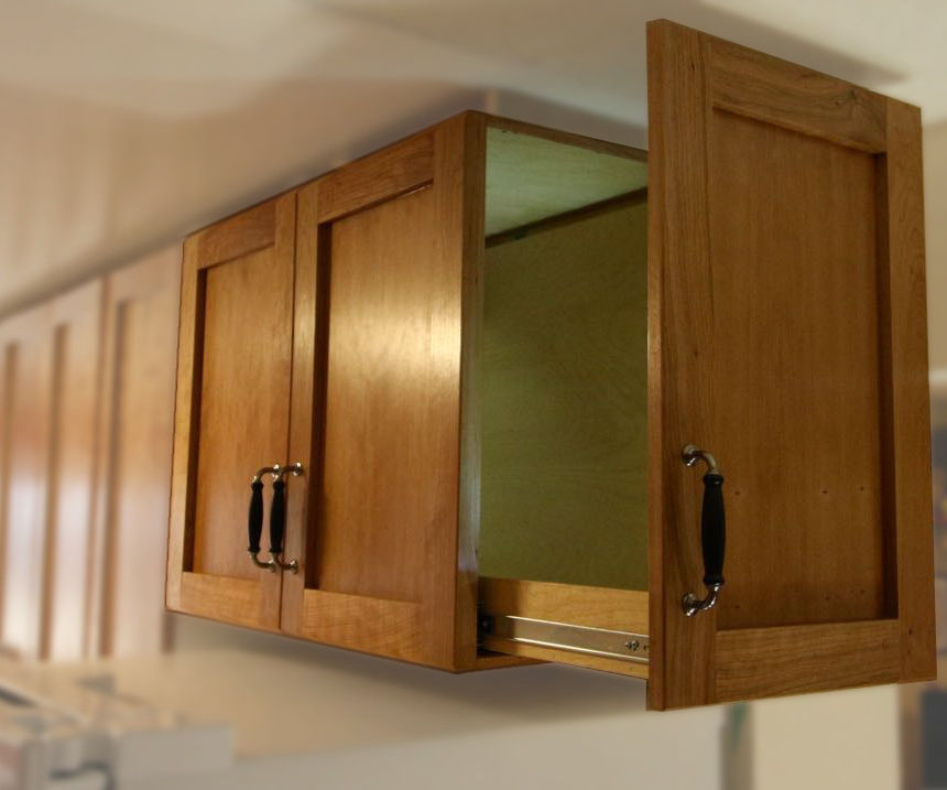 Side-Opening Above-The-Fridge Cabinet
